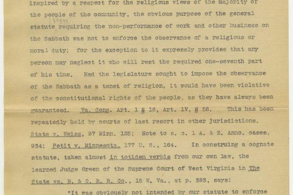 Opinion, Judge J. T. Lawless, 1909, Commonwealth v. A. Berson, et. als