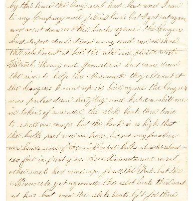 John Torrance Letter, Page 3.