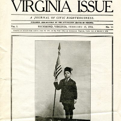 The Virginia Issue, Vol. 3, No. 18 Cover