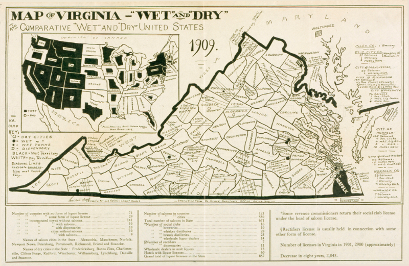 Settling the Liquor Question: The 1914 Referendum and Prohibition in Virginia