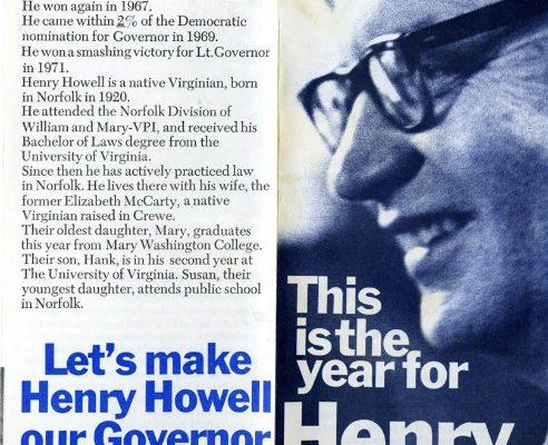 Henry Howell, 1973