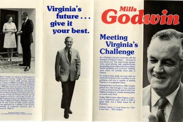 Mills Godwin, 1973