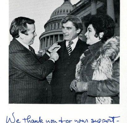 John Warner and Elizabeth Taylor, 1978