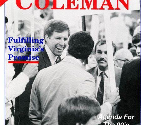 Marshall Coleman, 1989
