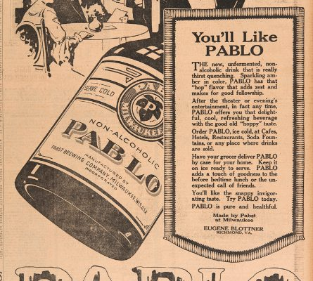 Advertisement for Pablo