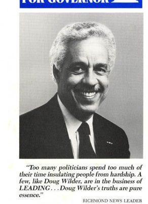 Doug Wilder, 1989