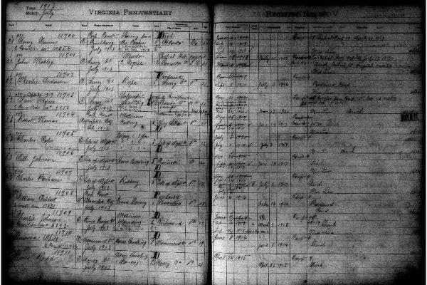 Entry 11708, William Oehlert, Prisoner Register No. 10