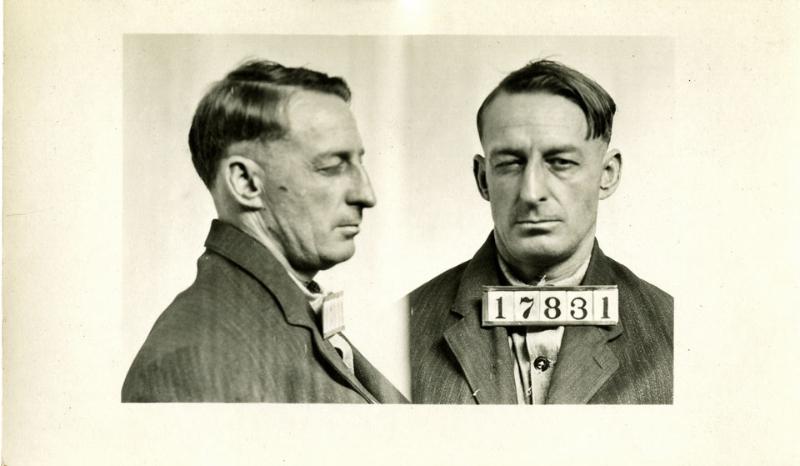 Mug Shot Monday: William H. Oehlert, No. 11708 and 17831
