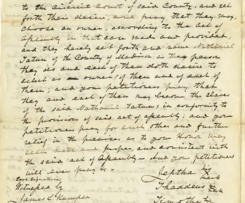 Page 2, Madison County (Va.) Petitions for Reenslavement