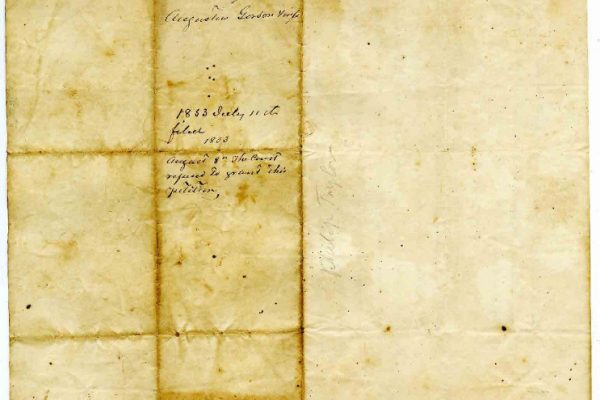 Page 2, Chesterfield County (Va.) Petition of Augustus Gordon, 1853