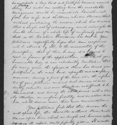 Page 1, Legislative Petition of James Dunlop, 1821