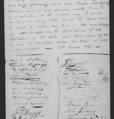 Page 3, Legislative Petition of James Dunlop, 1821
