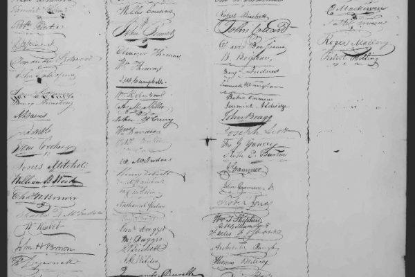 Page 4, Legislative Petition of James Dunlop, 1821