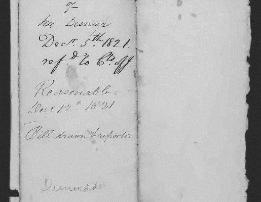Page 5, Legislative Petition of James Dunlop, 1821