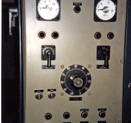 Photograph of computer in charge of execution, Death Chamber