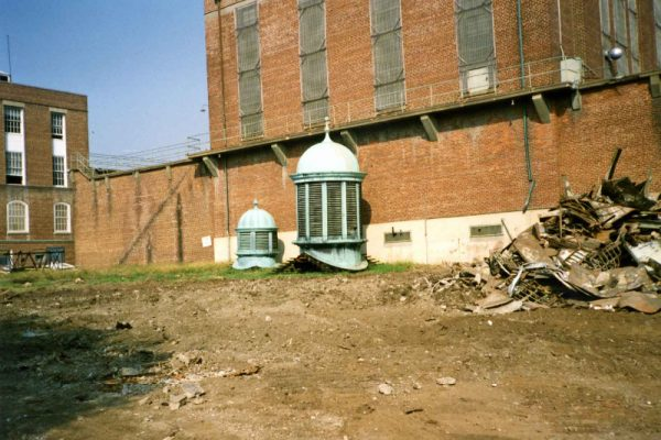 Photograph of B Building, Virginia Penitentiary, August 1991