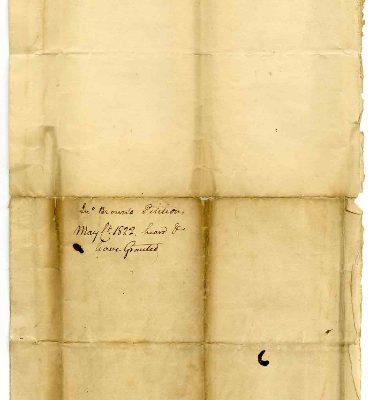 Page 3, Petersburg (Va.) Petition of John Brown, 1822