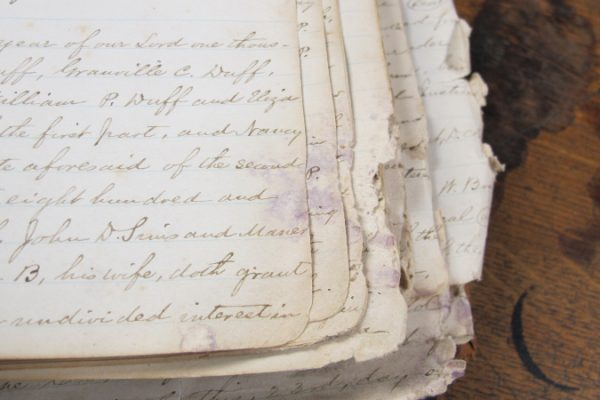Lee County Deed Book 16, 1870-1873