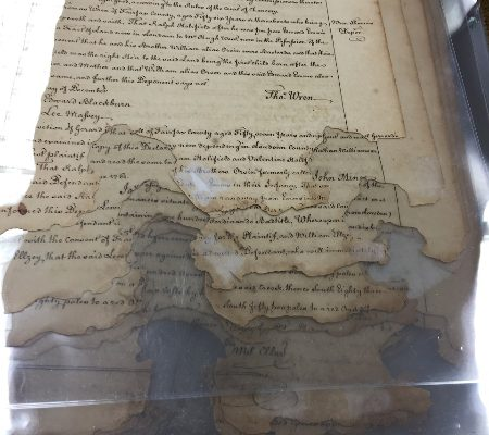 Pages found in Loudoun County Land Causes, 1757-1773