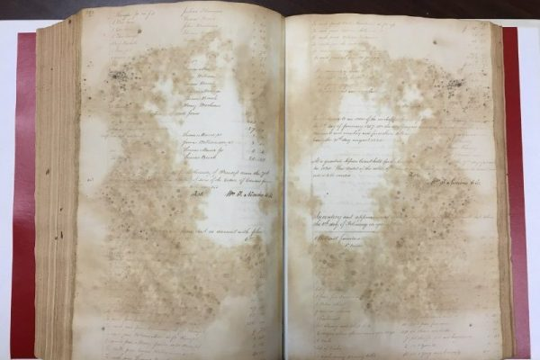 Princess Anne County Audit Book 7, 1818-1821