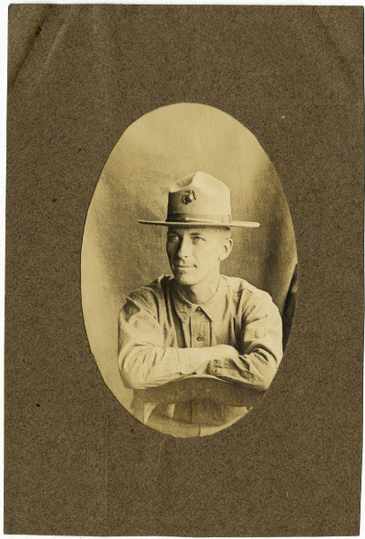 Photograph of Clarence A. Bryce, Jr. (1889-1918), Bryce Questionnaire.