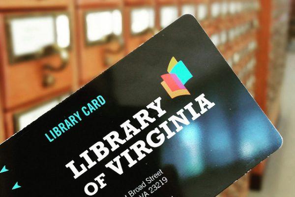 library card lva
