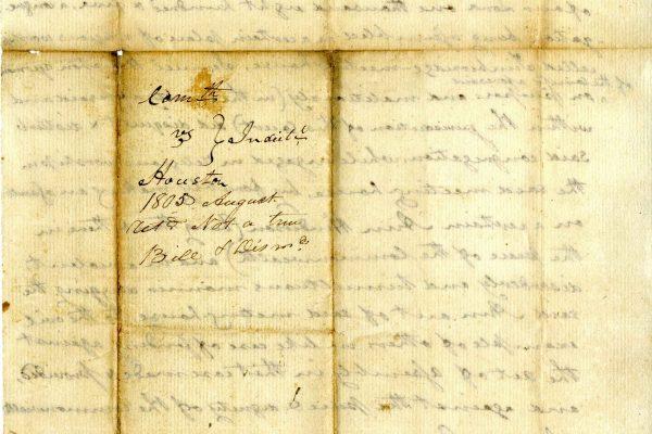 Ann Henderson v Samuel Houston, August 1805, Judgment