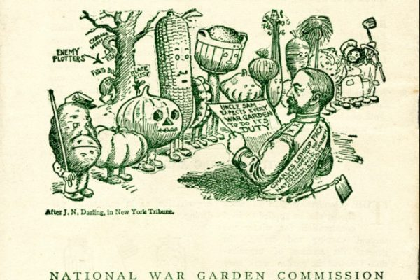 War gardening pamphlet, ca. 1918, Box 279, Folder 9. Virginia War History Commission, Series XIV: Second Virginia Council of Defense, 1917-1921, 1923-1924. Accession 37219, State Records Collection, The Library of Virginia.