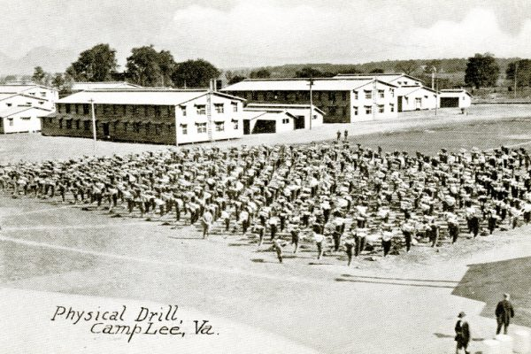 """Physical Drill, Camp Lee, Va."""
