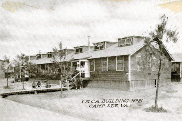 """""""Y.M.C.A. Building No. 81 Camp Lee, VA."""""""