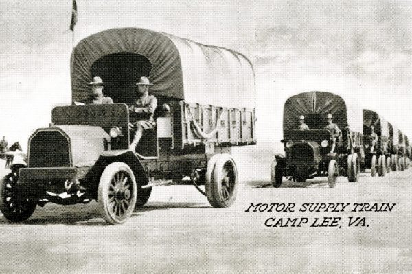 """Motor Supply Train Camp Lee, VA."""