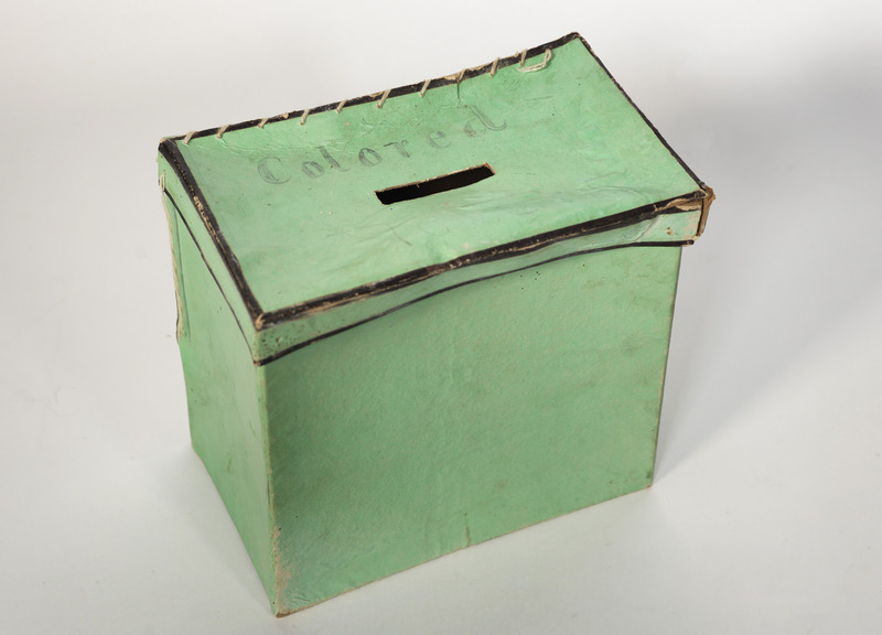 Election Time: Poll Books of the 1867 Election