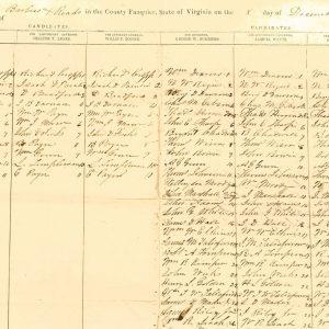 fauquier-1851-gov-poll