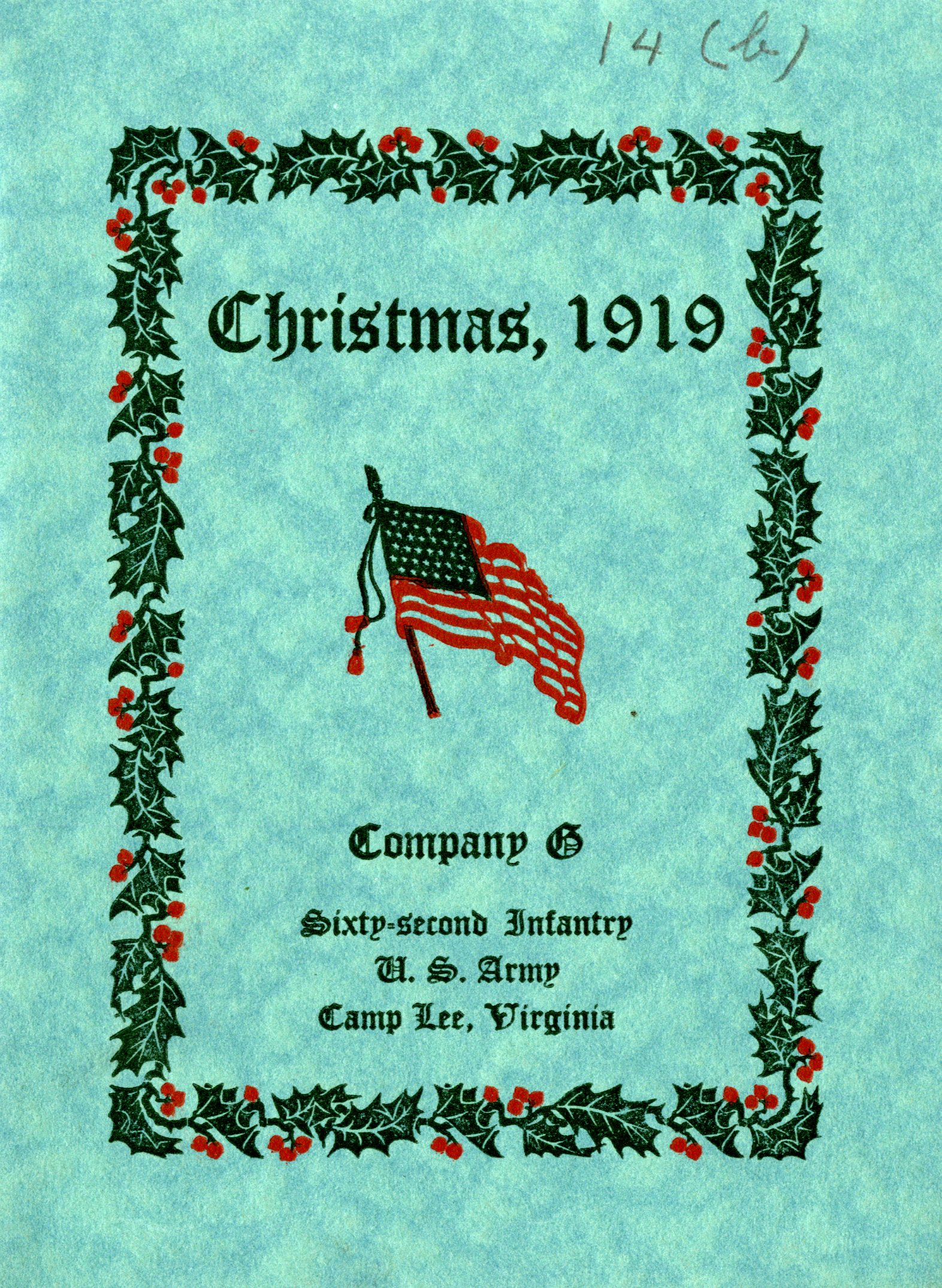 Wartime Christmas at Camp Lee