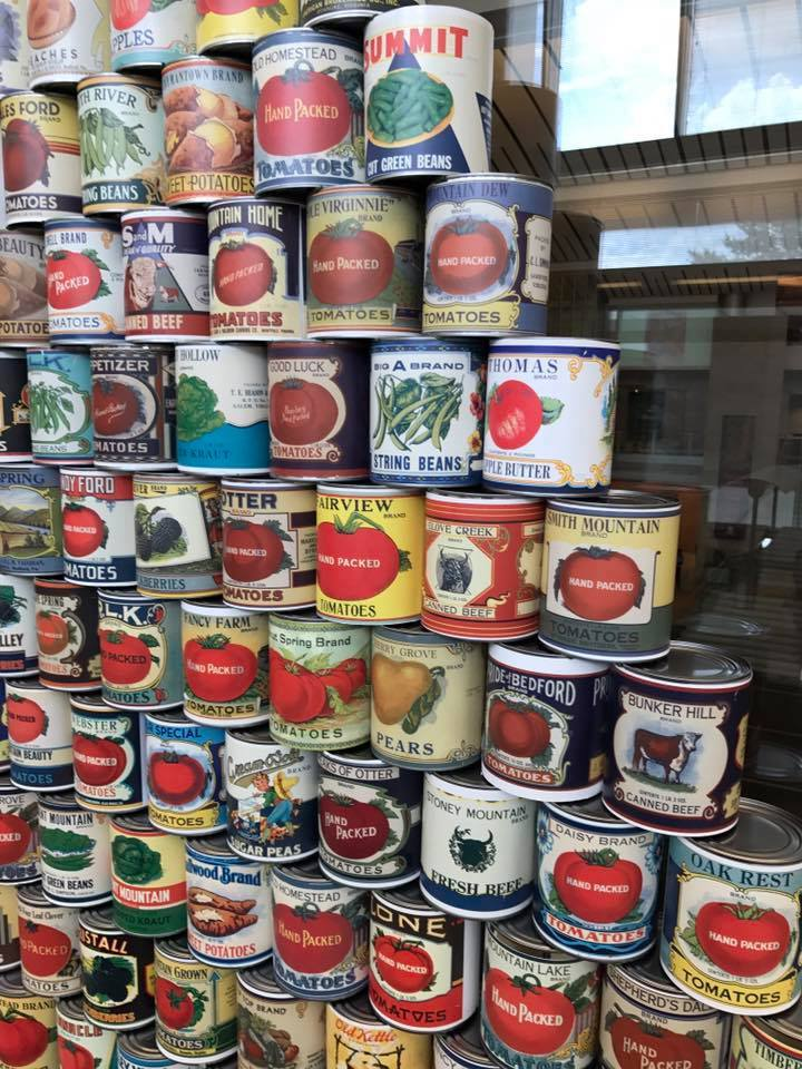 Tin Can Tell-All: Revealing Virginia's Role in the Canning Trade