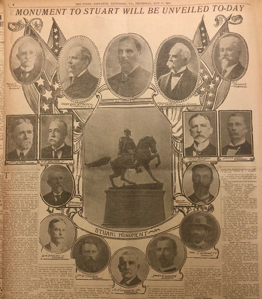 The 1907 Monuments in the Press