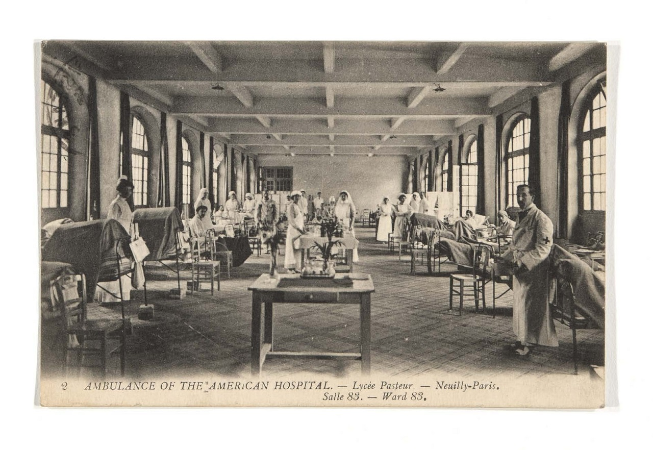 """""""View from the Hospital"""": The Blanton World War I Scrapbook"""