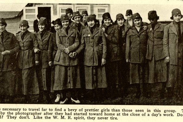 Women's Munitions Reserve Workers