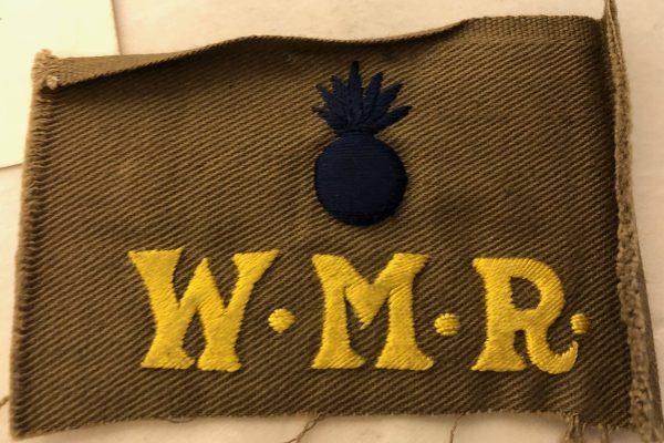 W.M.R. patch