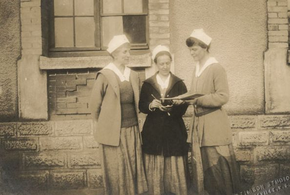 Nurses at U.S. Army Base