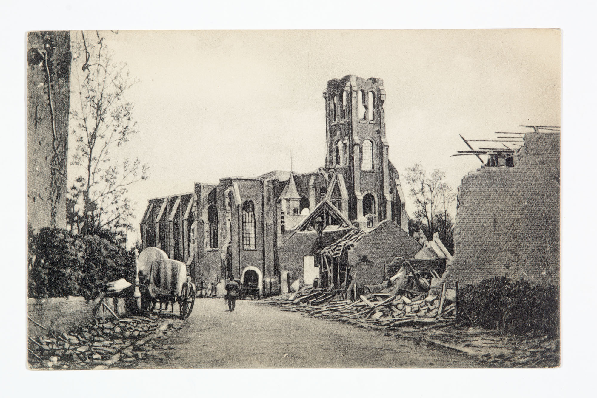 Chasing Steeples through WWI France
