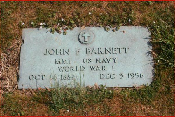 barnett-headstone