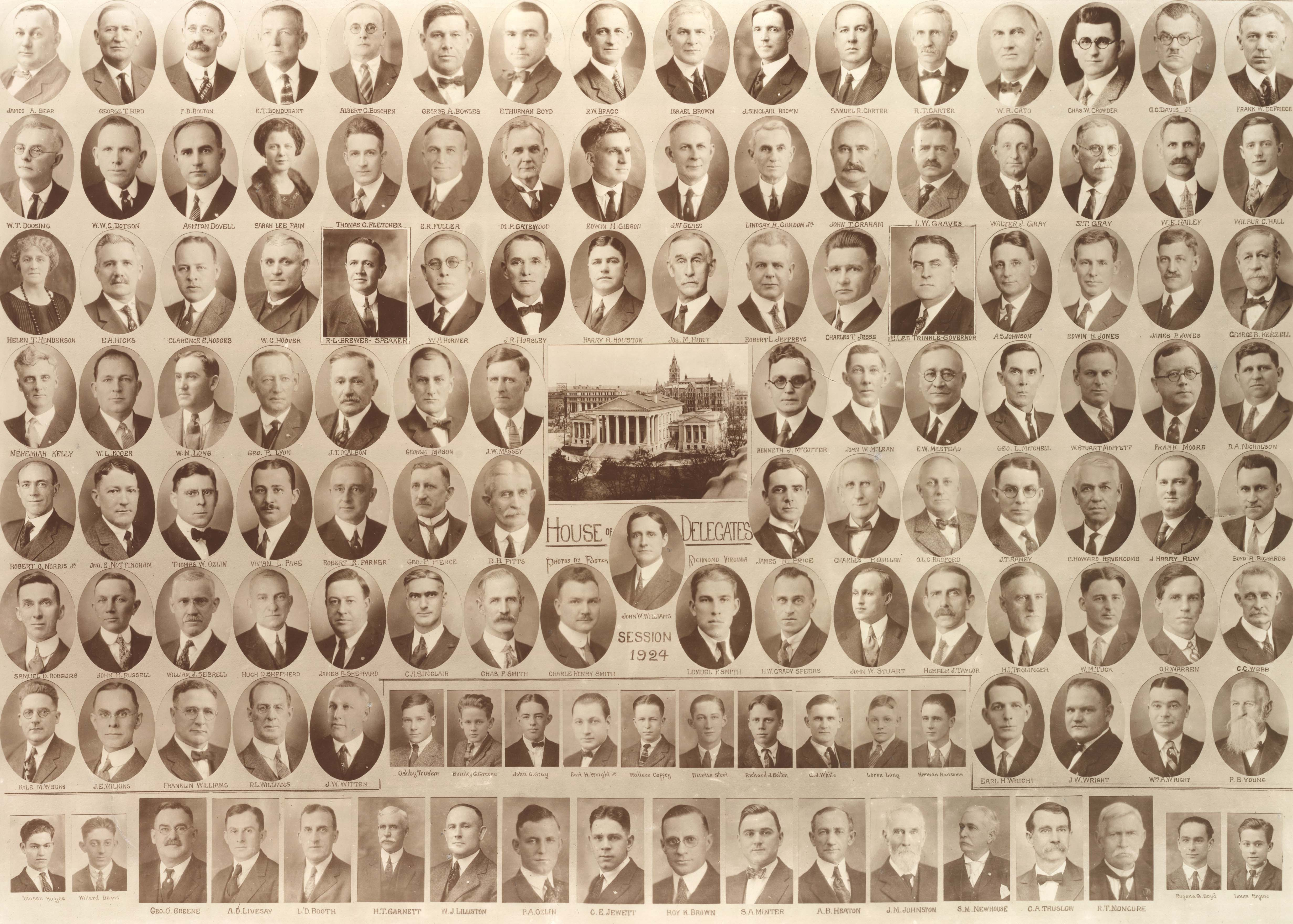 """Legislative Debutantes"": 95 Years of Women in Virginia's House of Delegates"