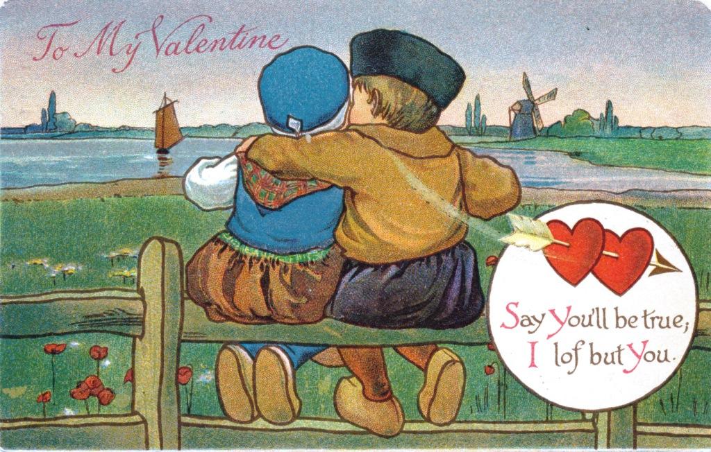 Ich Liebe Dich! Vintage Valentines