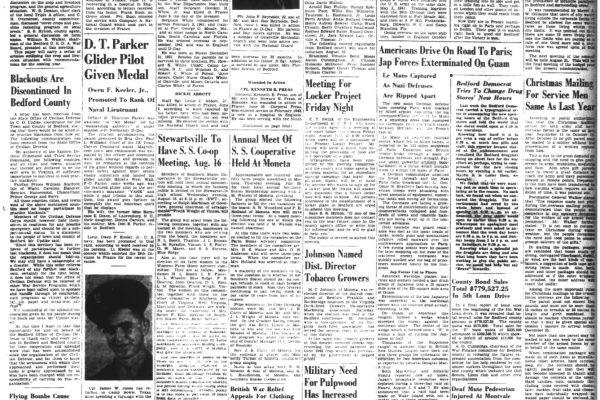 Bedford Democrat, 10 Aug 1944