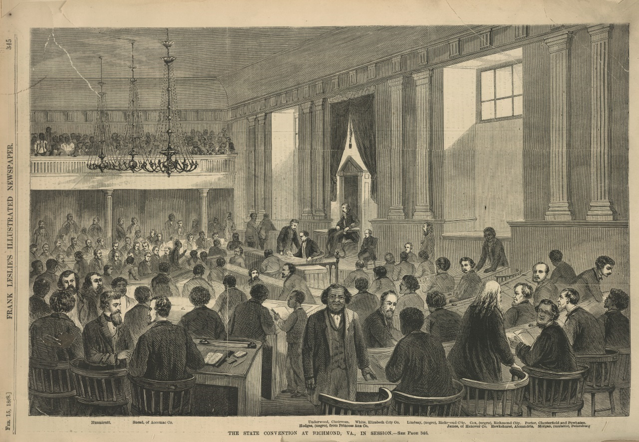 """""""Irrespective of Race or Color"""": African Americans and the Making of a New Virginia Constitution"""