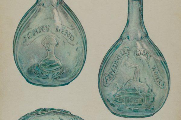 Jenny Lind bottle.