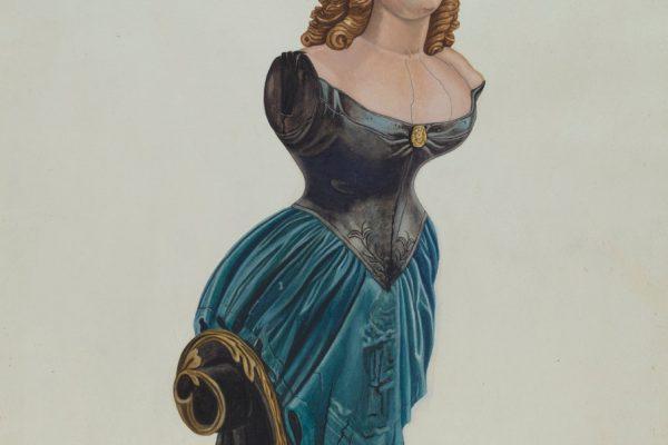 Jenny Lind figurehead.