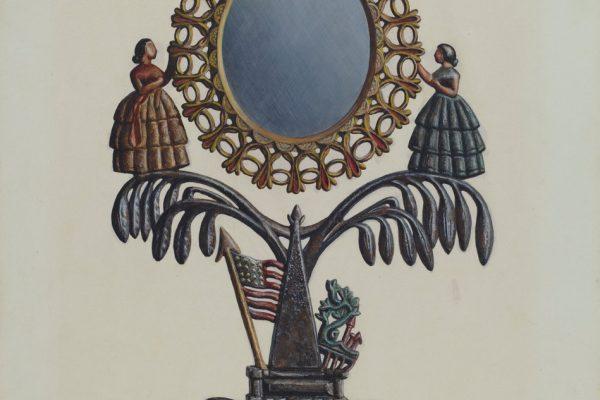 Jenny Lind mirror.