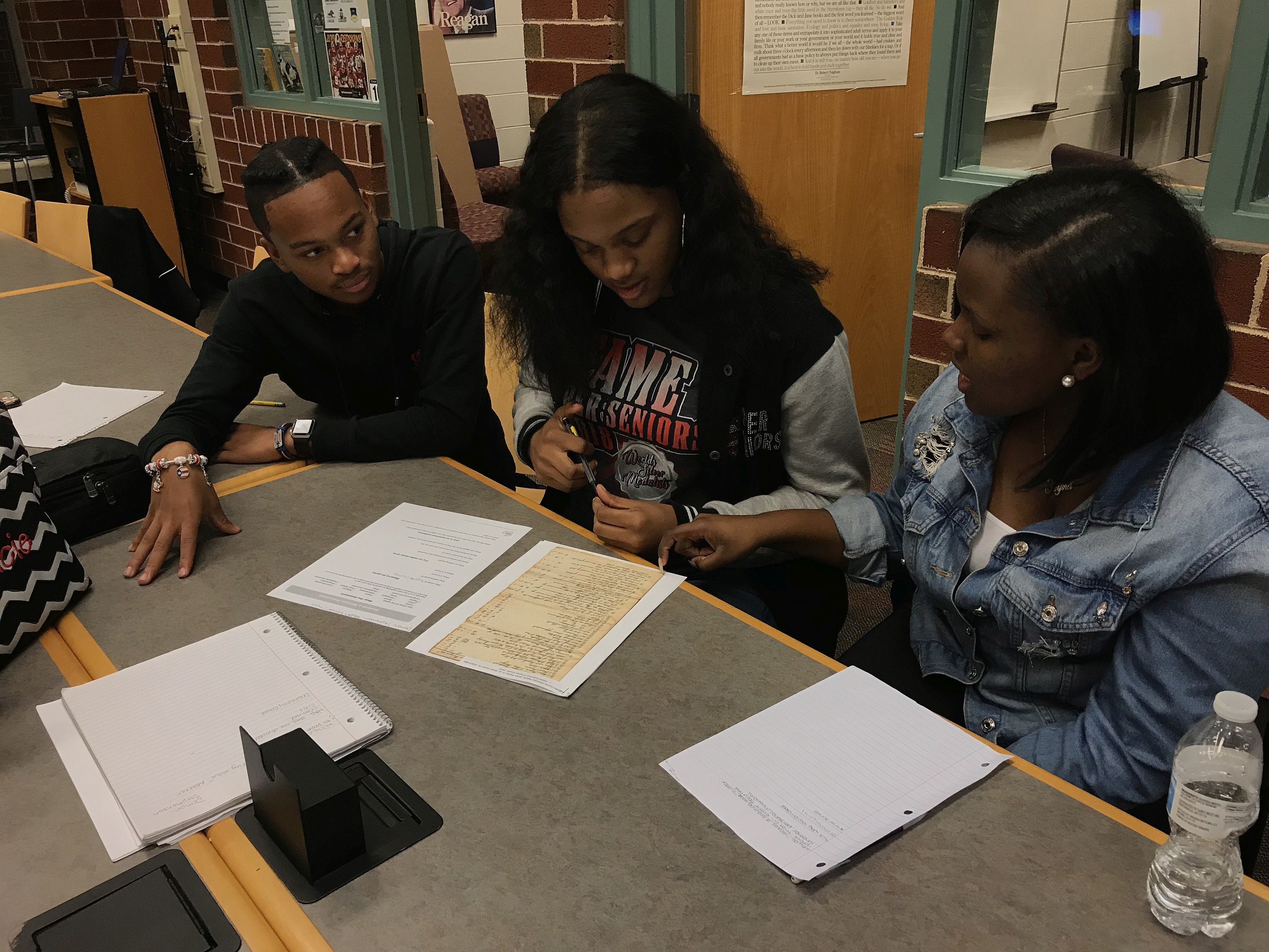 Primary Sources Force Students to Analyze the Past and Past Penmanship